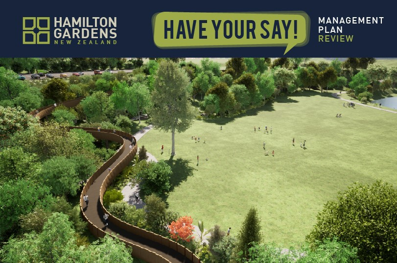 Have your say on the Hamilton Gardens Management Plan review